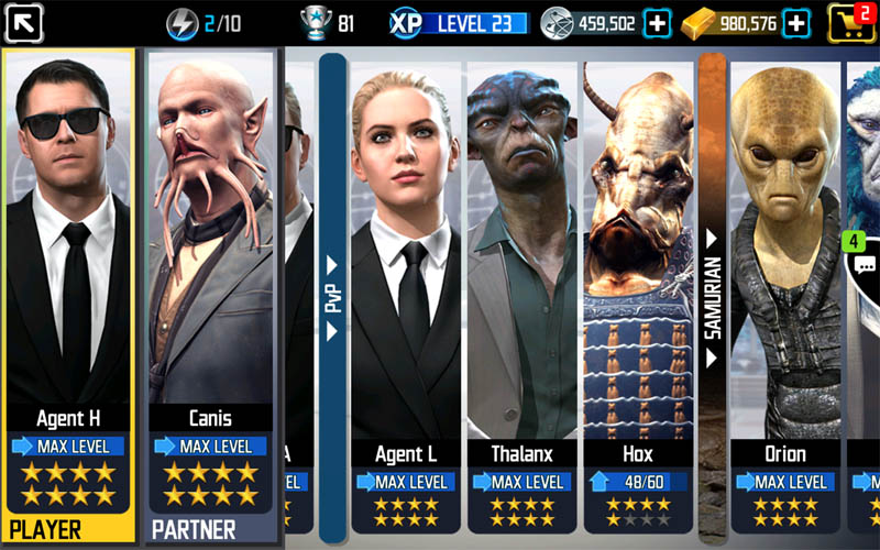Men In Black Galaxy Defenders - Screenshot 2