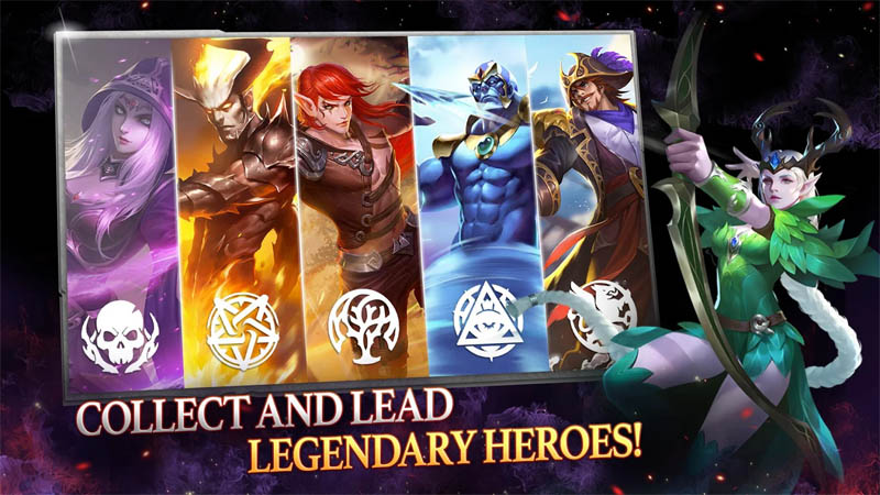 Might and Magic Heroes Era of Chaos - Collect And Lead Legendary Heroes
