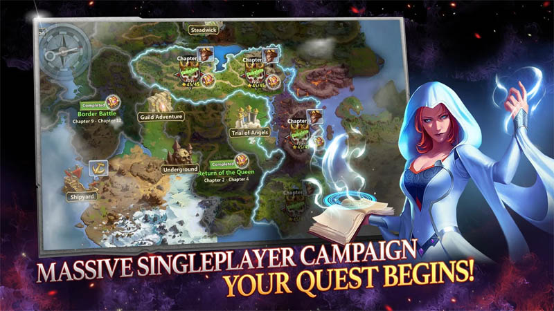 Might and Magic Heroes Era of Chaos - Massive Single Player Campaign Your Quest Begins