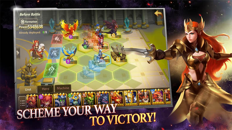 Might and Magic Heroes Era of Chaos - Scheme Your Way To Victory