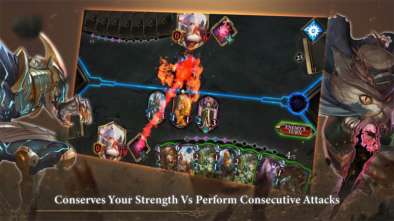Realm of Alters The Lost Relic - Conserves Your Strength Vs Perform Consecutive Attacks