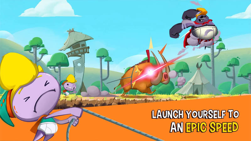 Rocky Rampage Wreck Em Up - Launch Yourself to an Epic Speed