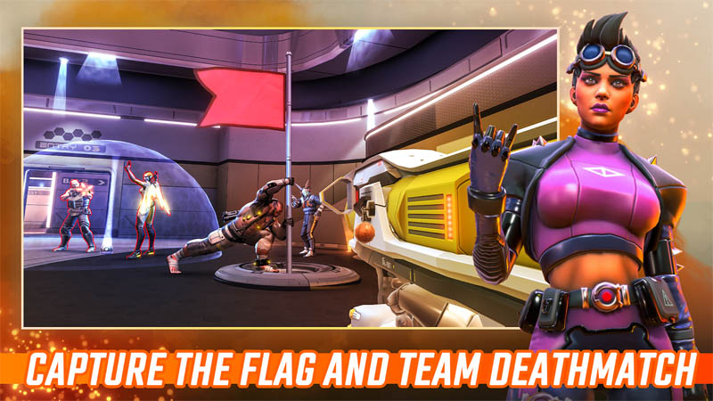 Shadowgun War Games - Capture The Flag And Team Deathmatch