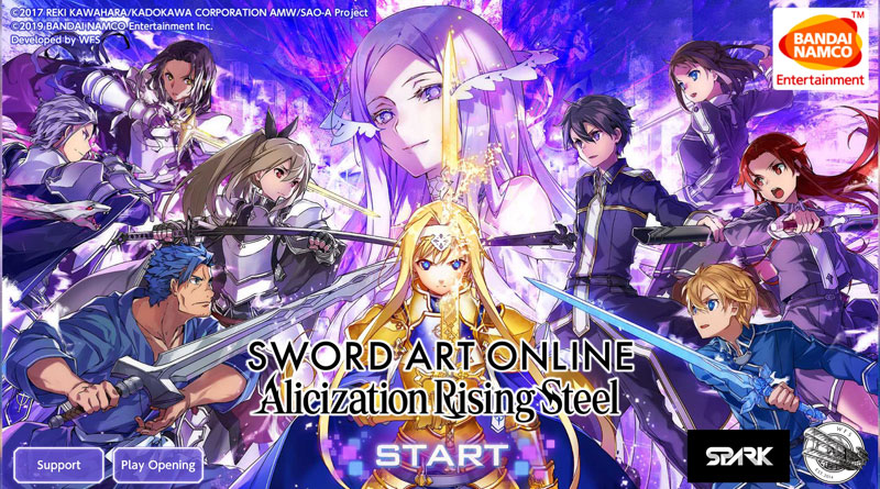 Sword Art Online Alicization Rising Steel Intro