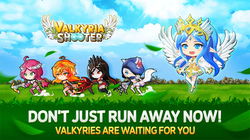Valkyria Shooter - Don t Just Run Away Now Valkyries Are Waiting For You