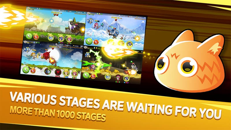 Valkyria Shooter - Various Stages Are Waiting For You More Than 1000 Stages