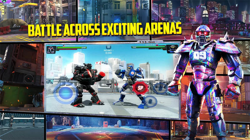 World Robot Boxing 2 - Battle Across Exciting Arenas