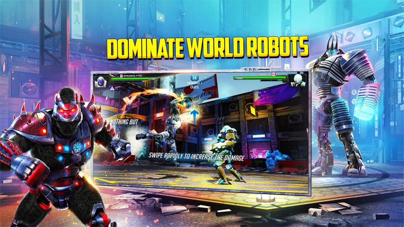 World Robot Boxing 2 - Dominate World Robots