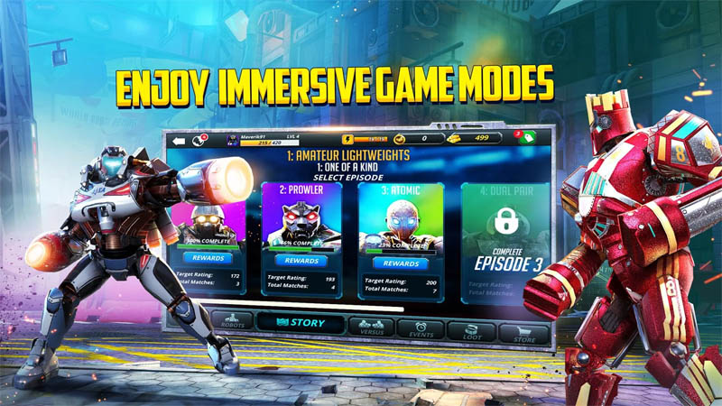World Robot Boxing 2 - Enjoy Immersive Game Modes