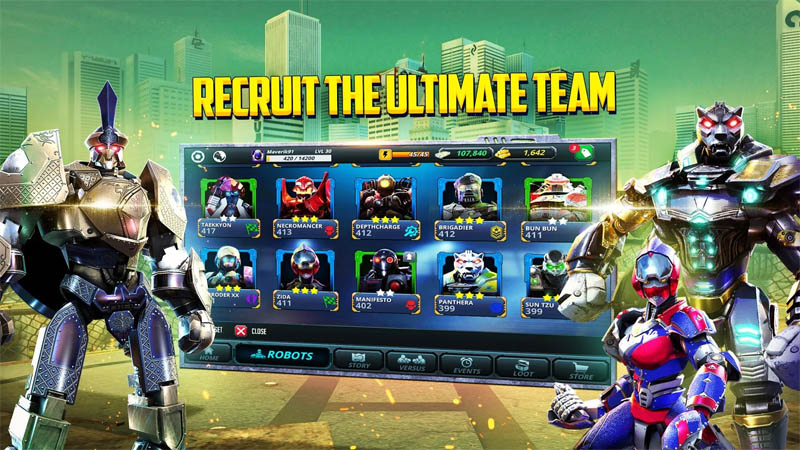World Robot Boxing 2 - Recruit The Ultimate Team