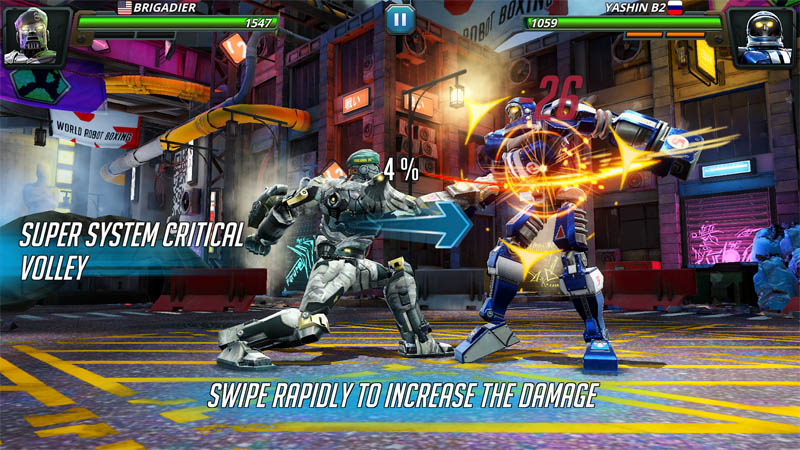 World Robot Boxing 2 - Screenshot