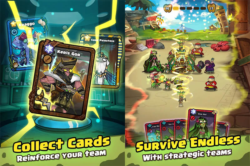 Zombie Friends Idle - Collect Cards Survive Endless