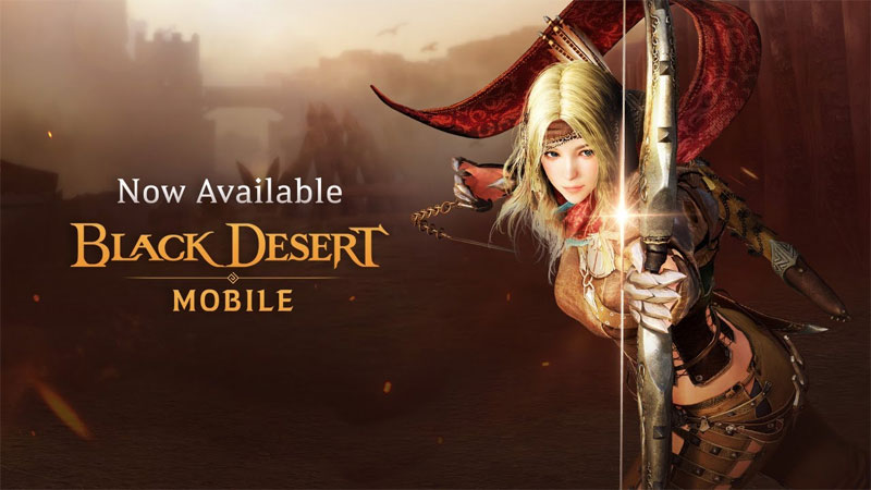 Black Desert Mobile Released