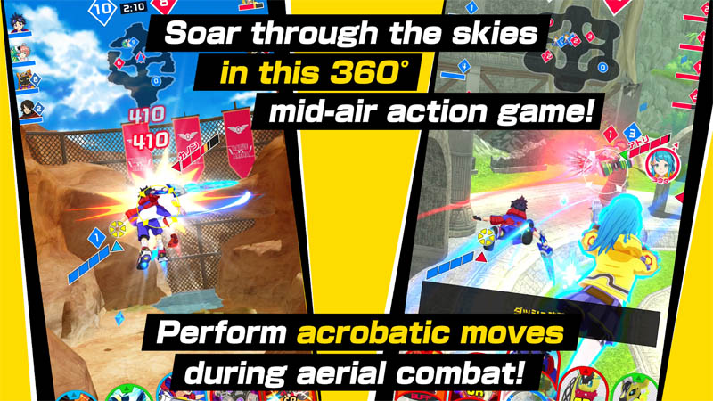 Kick Flight - Soar through the skies in this 360 degree mid air action game