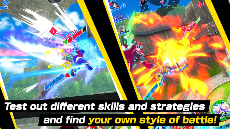 Kick Flight - Test out different skills and strategies and find your own style of battle