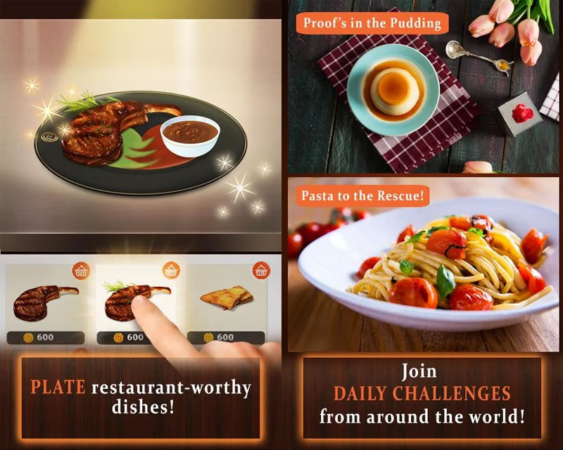 MasterChef Dream Plate - Plate Restaurant worthy dishes Join Daily Challenges