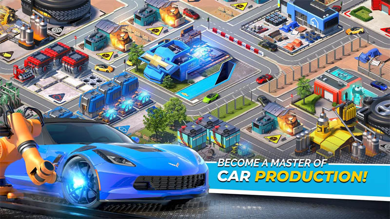 Overdrive City - Become A Master of Car Production