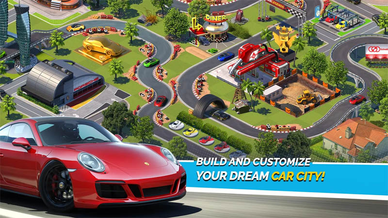 Overdrive City - Build and Customize Your Dream Car City
