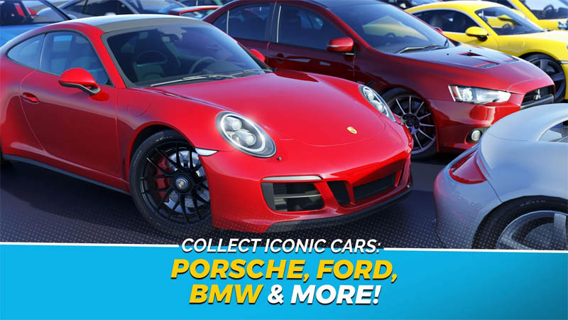 Overdrive City - Collect Iconic Cars Porsche Ford BMW More
