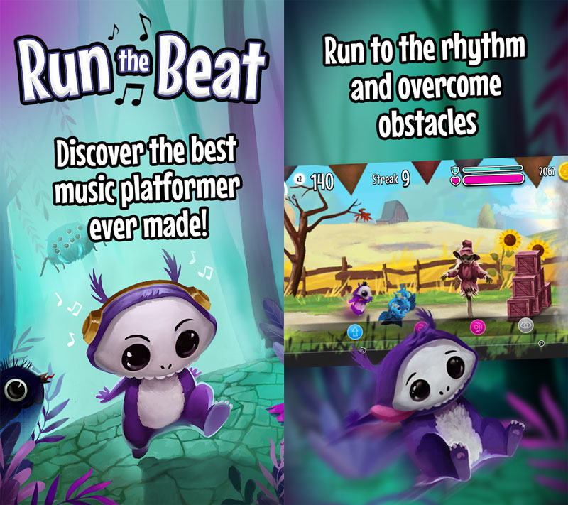 Run The Beat - Discover the best music platformer run to the ryhthm