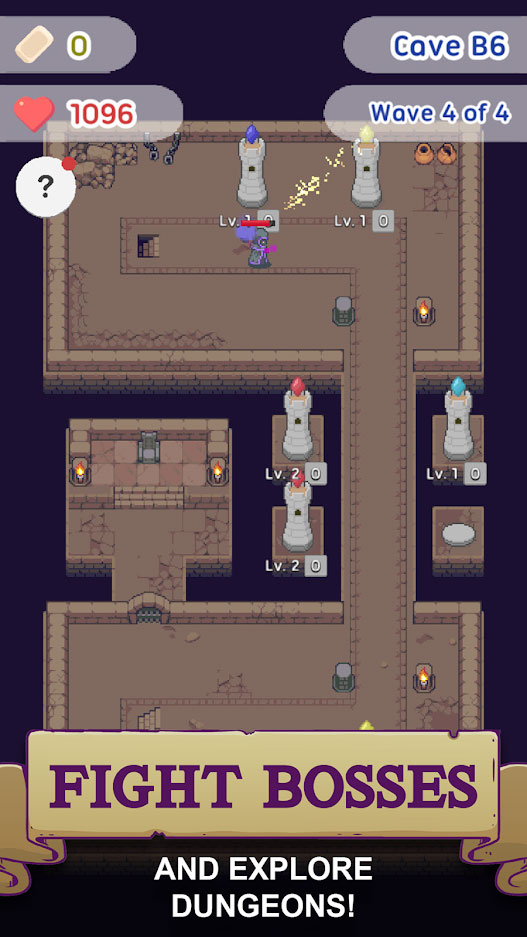 Slime Defense Idle Tower Defense - Fight Bosses and Explore Dungeons