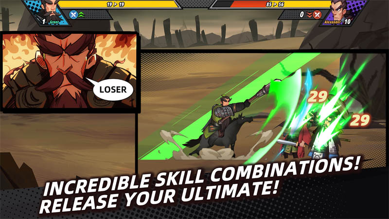 Tactical Three Kingdoms - Incredible Skill Combinations Release Your Ultimate
