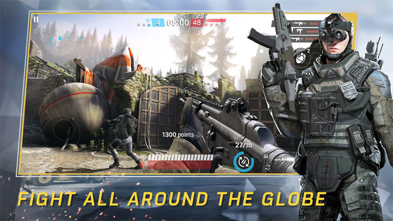 Warface Global Operations - Fight All Around The Globe