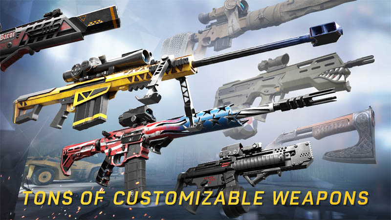 Warface Global Operations - Tons of Customizable Weapons