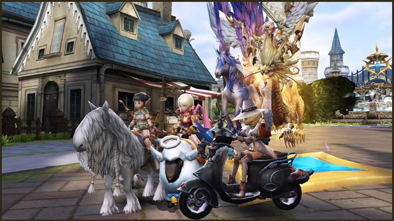 World of Dragon Nest - Fitur Mount