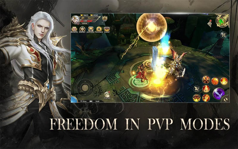 Devil Hunter Eternal War - Freedom in PVP Modes