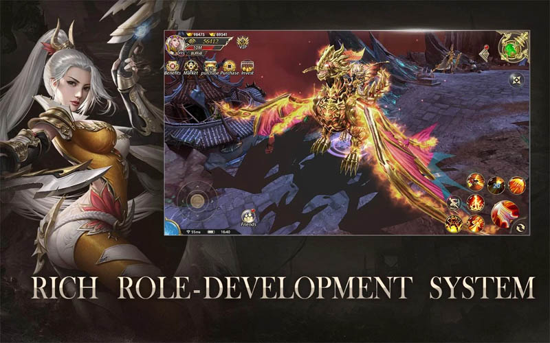 Devil Hunter Eternal War - Rich Role Development System