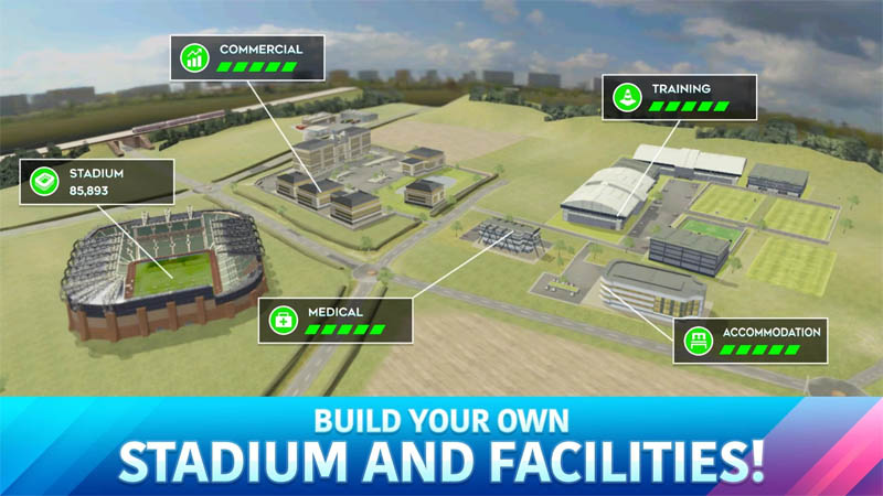 Dream League Soccer 2020 - Build Your Own Stadium And Facilities
