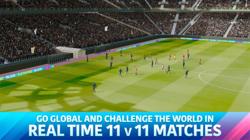 Dream League Soccer 2020 - Go Global And Challenge The World in Real Time 11 v 11 Matches