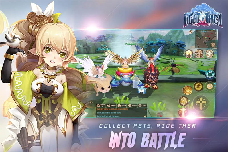 Light of Thel Glory of Cepheus - Collect Pets Ride Them Into Battle