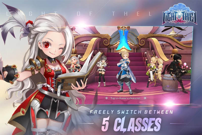 Light of Thel Glory of Cepheus - Freely Switch Between 5 Classes