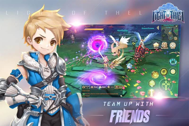 Light of Thel Glory of Cepheus - Team Up With Friends