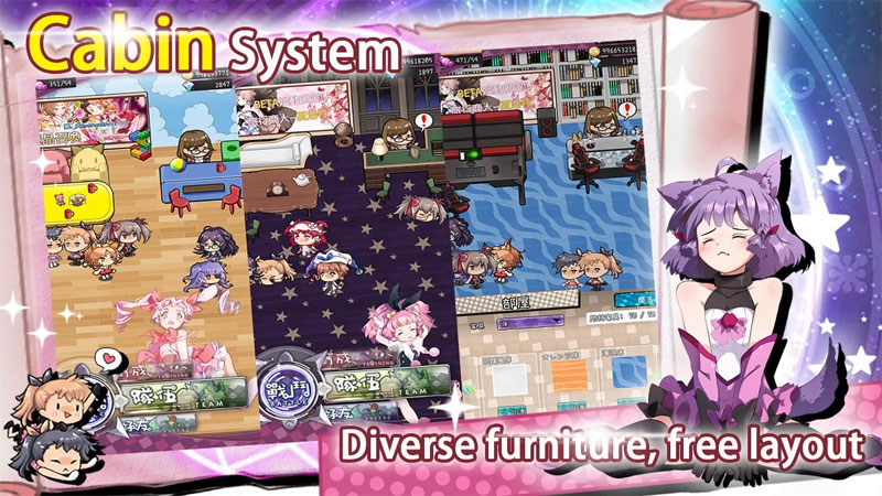 Magic Burns 9 Times - Cabin System Diverse furniture free layout
