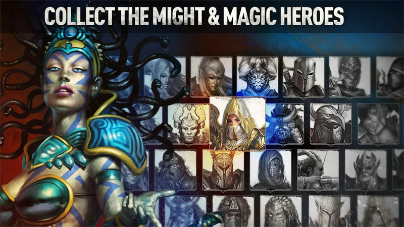 Might and Magic Chess Royale - Collect The Might and Magic Heroes