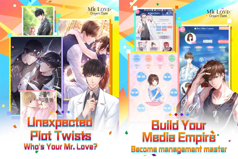 Mr Love Dream Date - Unexpected Plot Twists who your mr love Build Media Empire