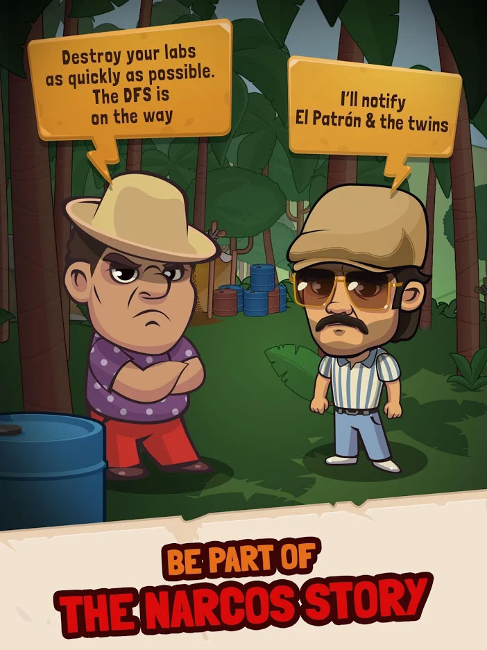 Narcos Idle Cartel - Be part of the narcos story
