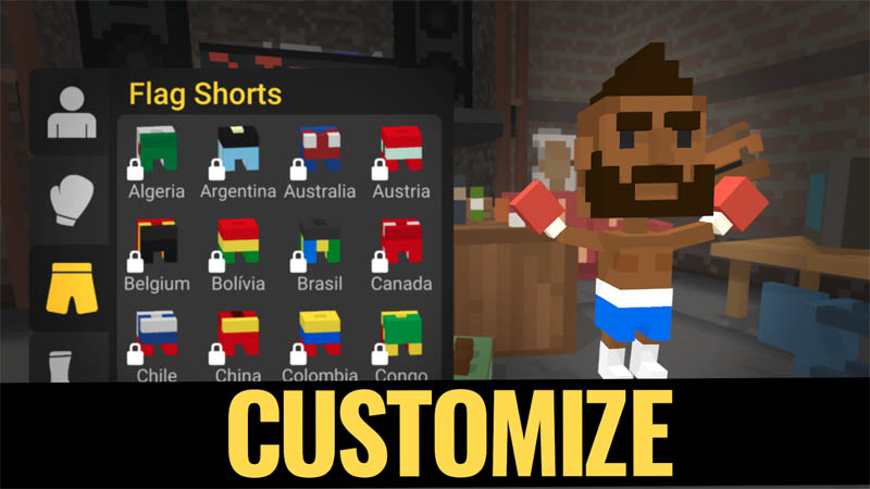 Square Fists Boxing - Customize