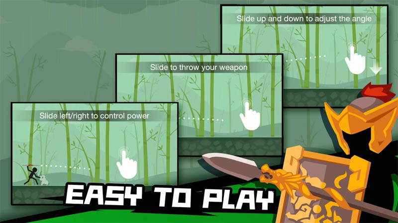 Stickman Master Archer Legends - Easy To Play