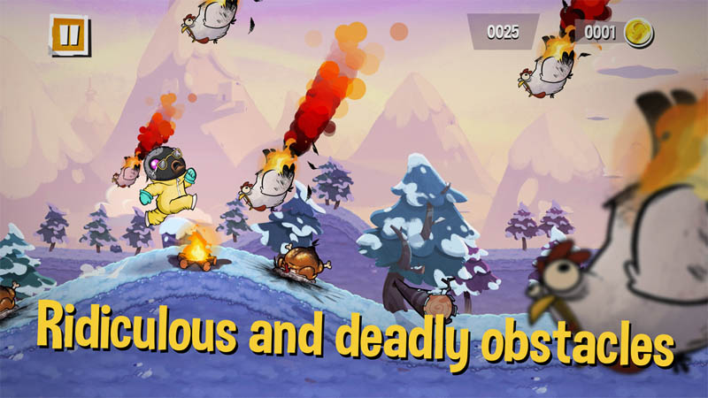 Sweet Meat Rush - Ridiculous and deadly obstacles