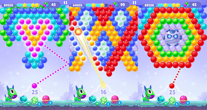 The Bubble Shooter Story - Screenshot