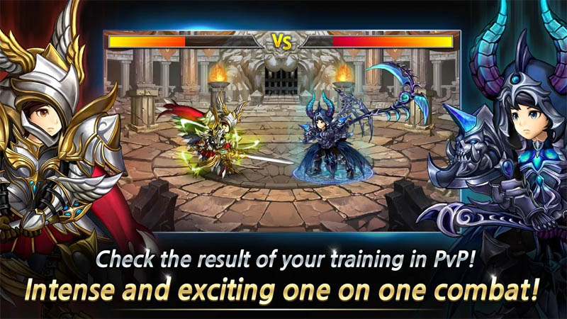 Training Hero Always focus on training - PvP Intense and exciting on one on combat