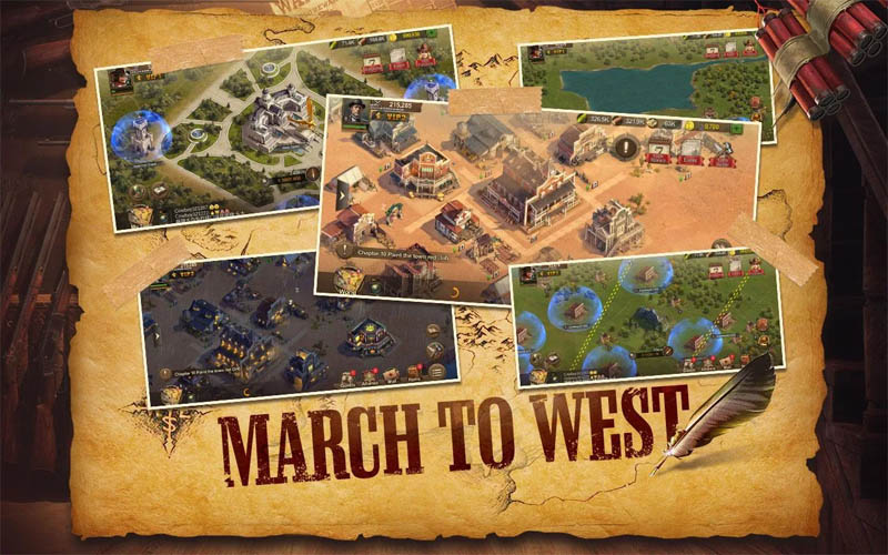 Wild Frontier - March to West