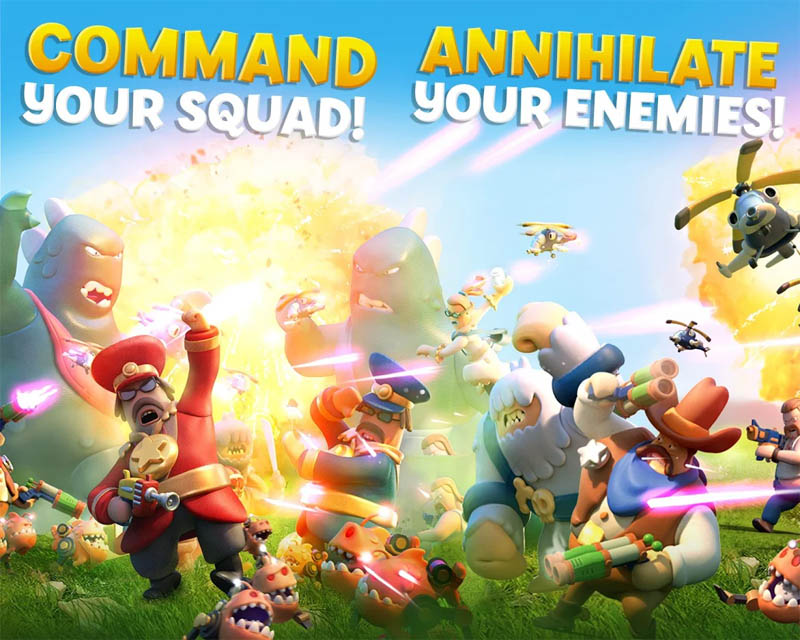 World War Doh - Command your squad Annihilate your enemies
