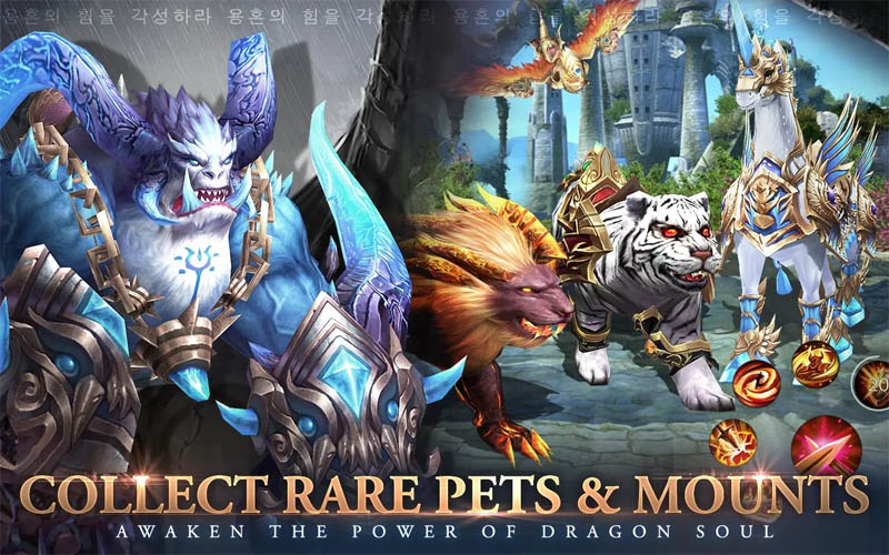 Awakening of Dragon - Collect Rare Pets and Mounts