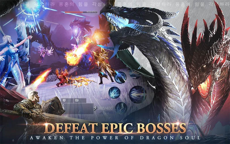 Awakening of Dragon - Defeat Epic Bosses