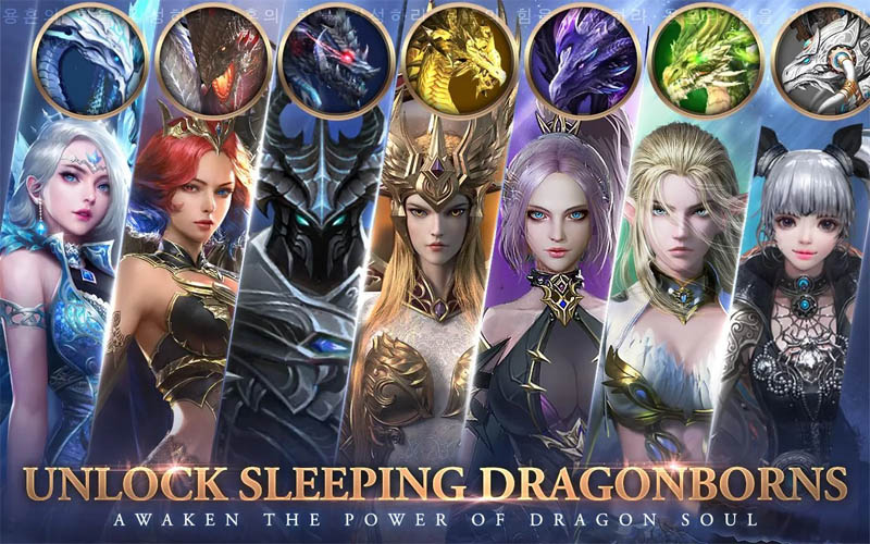 Awakening of Dragon - Unlock Sleeping Dragonborns